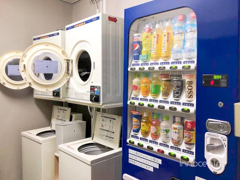 自動販売機と洗濯機・乾燥機