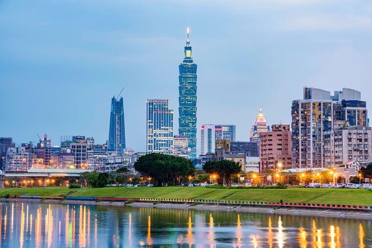 台湾の台北タワー