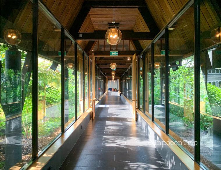 シャトー オン ザ パーク - クライストチャーチの廊下