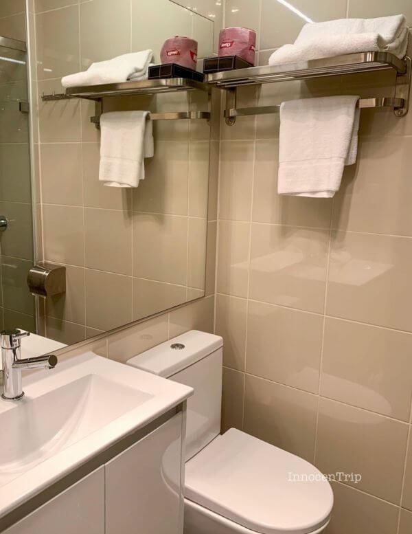 トイレ・タオル