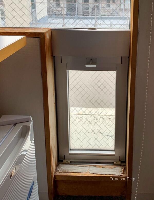 開けられる窓
