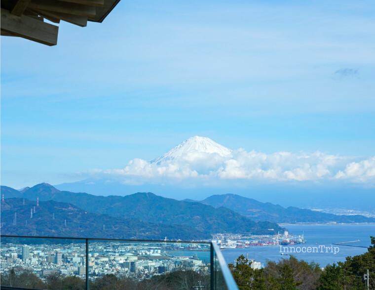 夢テラスから望む富士山
