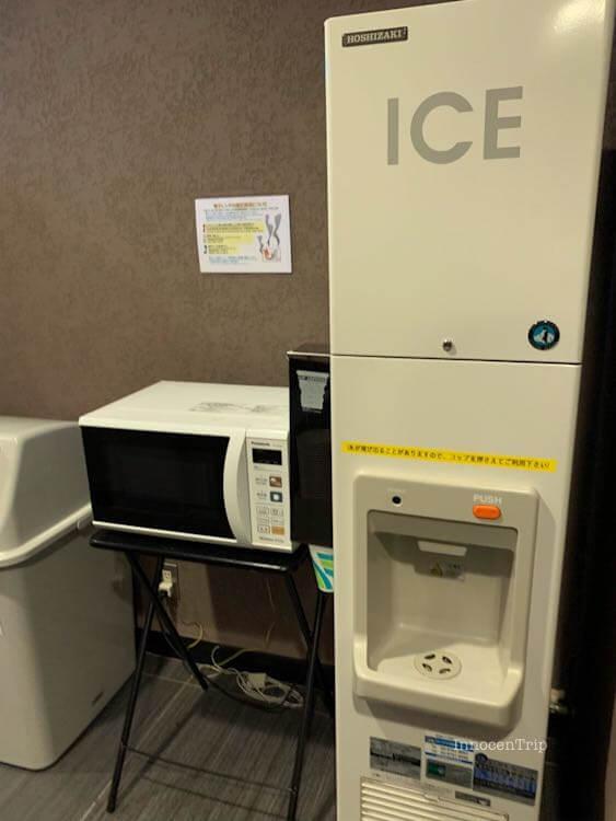 氷・電子レンジ