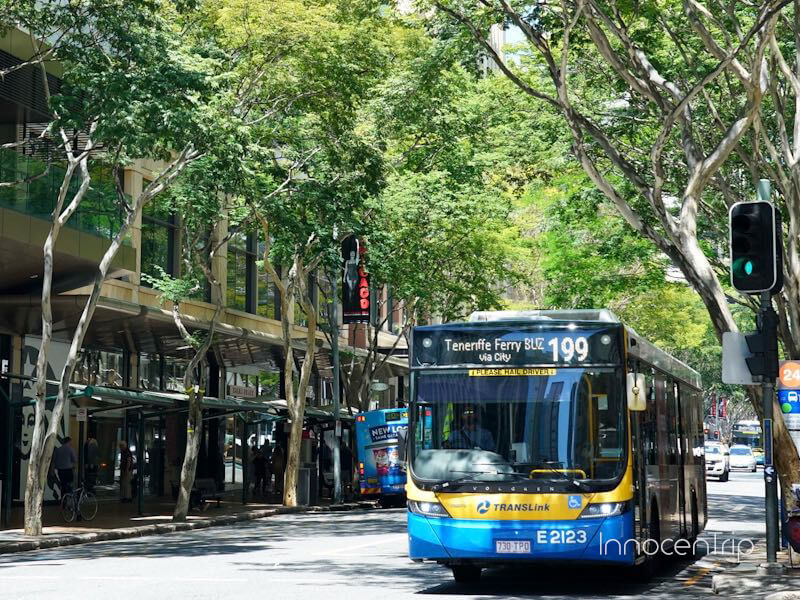 ブリスベンの路線バス