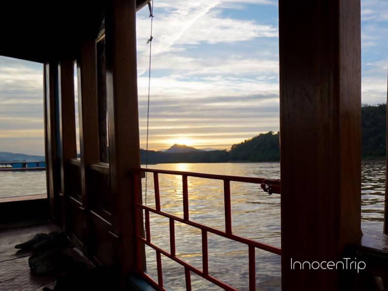 メコン川のサンセットクルーズ